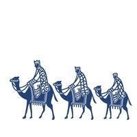 Tattered Lace Die - Three Wise Men D417 FREE SHIPPING