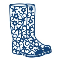 Tattered Lace Die Festival Wellies D543