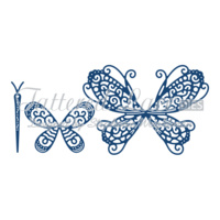 Tattered Lace Die - Build a Butterfly Splendour D655 FREE SHIPPING