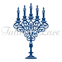 Tattered Lace Die Candelabra D765