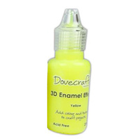 Dovecraft 3D Enamel Effects Paint Yellow