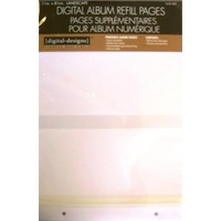 Digital Photo Album 11 x 8.5  Refill Pages 10 Pack  by Westrim Crafts