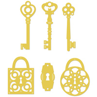 KaiserCraft Die Keys and Locks