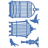 KaiserCraft  Die Birds & Cages FREE SHIPPING