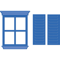Kaisercraft Die Window and Shutters DD569 FREE SHIPPING