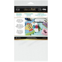 Deco Foil Iron-On Adhesive Transfer Sheet 5.5x12 5/Pkg FREE SHIPPING