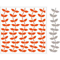Marianne Design Folder with Die Extra Leaves 12.5cm x 12.5cm