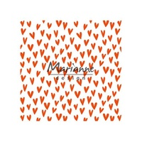 Marianne Design Folder 5x5 Trendy Hearts DF3438