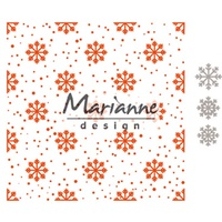 Marianne Design Folder Snow and Ice