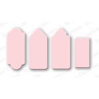 Impression Obsession Die Mini Rectangle Tags 1 Die Set DIE013J