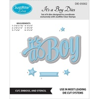 Justrite Spellbinders Dies It's A Boy