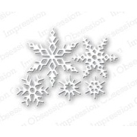 Impression Obsession Die - Small Snowflake Set DIE100-F FREE SHIPPING