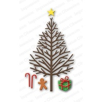 Impression Obsession Die Bare Christmas Tree DIE107V