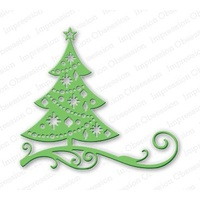 Impression Obsession Die Cutout Christmas Tree DIE111U
