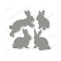 Impression Obsession Die Rabbit Set DIE168C