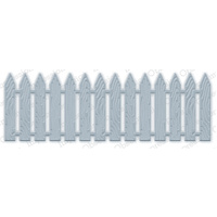 Impression Obsession Die Picket Fence DIE206V