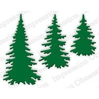 Impression Obsession Die Evergreen Trees DIE217E
