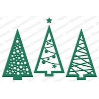 Impression Obsession Die Christmas Tree Cutout DIE240V