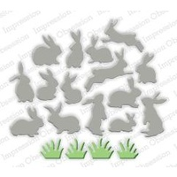 Impression Obsession Die Mini Bunnies DIE269N