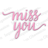 Impression Obsession Die Miss You DIE384E