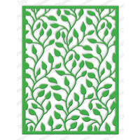 Impression Obsession Die Leafy Background DIE444YY