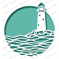 Impression Obsession Die - Lighthouse Circle DIE548-Z