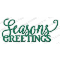 Impression Obsession Die Seasons Greetings DIE594-J