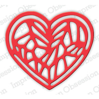 Impression Obsession Die - Jewelled Heart DIE624-I