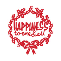 Tattered Lace Die Disney Vintage Happiness to One and All Plaque Die DIS0121DL019