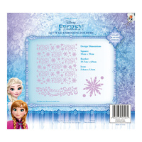 Tattered Lace Disney Frozen Let It Go Embossing Folder DIS0221-EFDL004 FREE SHIPPING