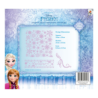 Tattered Lace Disney Frozen Snowflakes Embossing Folder DIS0222EFDL005