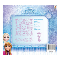 Tattered Lace Die - Disney Frozen Olaf Embossing Folder DIS0223-EFDL006 FREE SHIPPING