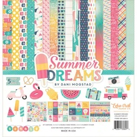 Echo Park Paper Co 12x12 Paper Pad Summer Dreams