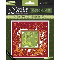 Crafter's Companion Die'sire Dies Create-A-Card 6x6 Christmas Eve FREE SHIPPING