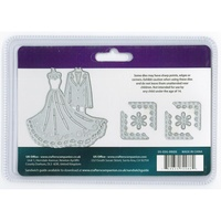 Crafter's Companion Die'sire Dies Edge'ables Bride & Groom 7/Pkg