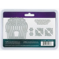 Crafter's Companion Die'sire Dies Edge'ables Elegant Birdcage 7/Pkg FREE SHIPPING