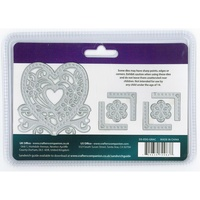 Crafter's Companion Die'sire Dies Edge'ables Graceful Heart 7/Pkg