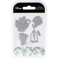 Disney  Beauty And The Beast Embellishments Die Set DUS0613