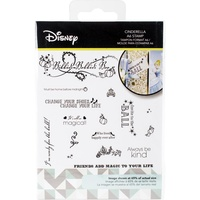Disney Cinderella Stamp Set DUS0674