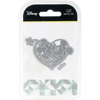 Disney Mickey & Minnie Mouse A Love Story Die Set DUS2801
