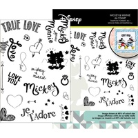 Disney Mickey & Minnie Mouse Stamp Set DUS2809