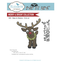 Elizabeth Craft Designs Dies Rudy the Reindeer