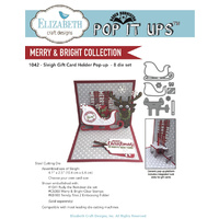 Elizabeth Craft Designs Dies Sleigh Gift Card Holder PopUp