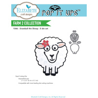 Elizabeth Craft Designs Dies Snowball the Sheep