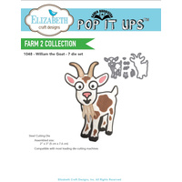 Elizabeth Craft Designs Dies William the Goat
