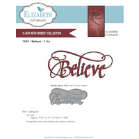 Elizabeth Craft Designs Dies Quietfire Believe