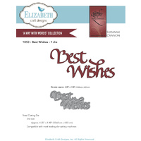 Elizabeth Craft Designs Dies Quietfire Best Wishes