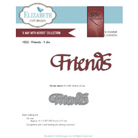 Elizabeth Craft Designs Dies Quietfire Friends