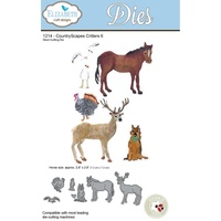 Elizabeth Craft Designs Dies CountryScapes Critters 6