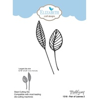 Elizabeth Craft Designs Dies Pair Of Leaves 2